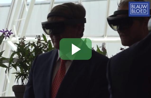 HoloLens Willem Alexander